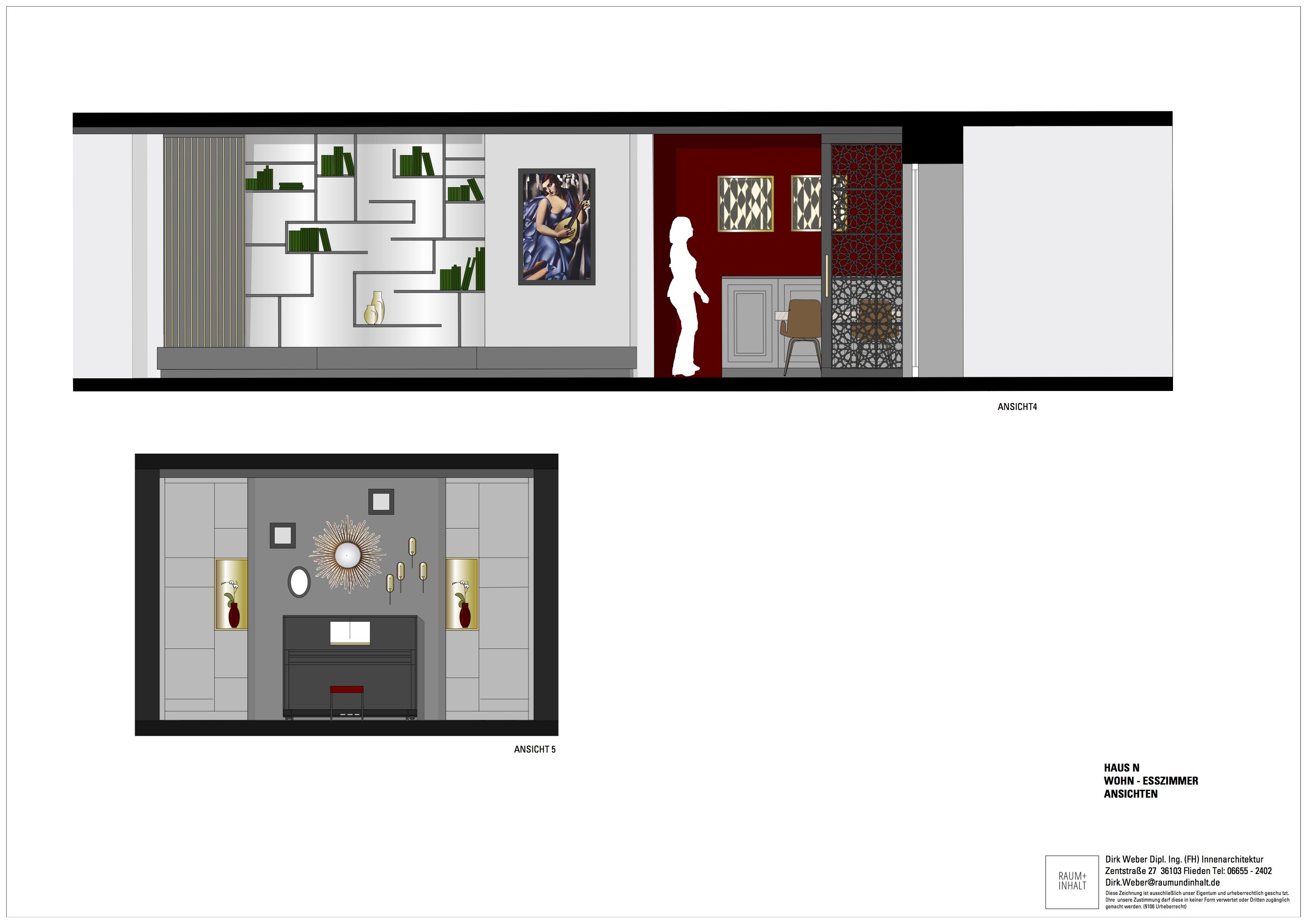 Haus n fulda innenarchitektur raum inhalt d weber dipl for Haus innenarchitektur